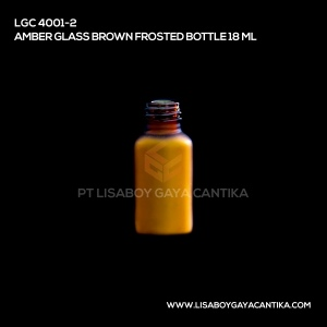 LGC-4001-2-AMBER-GLASS-BROWN-FROSTED-BOTTLE-18-ML